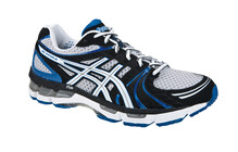 Asics Men's Gel Kayano 18 lightning white royal